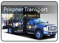 Prisoner Transport Box Truck