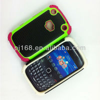 Hot!!TOP sale new design combo phone case for blackberry 9320