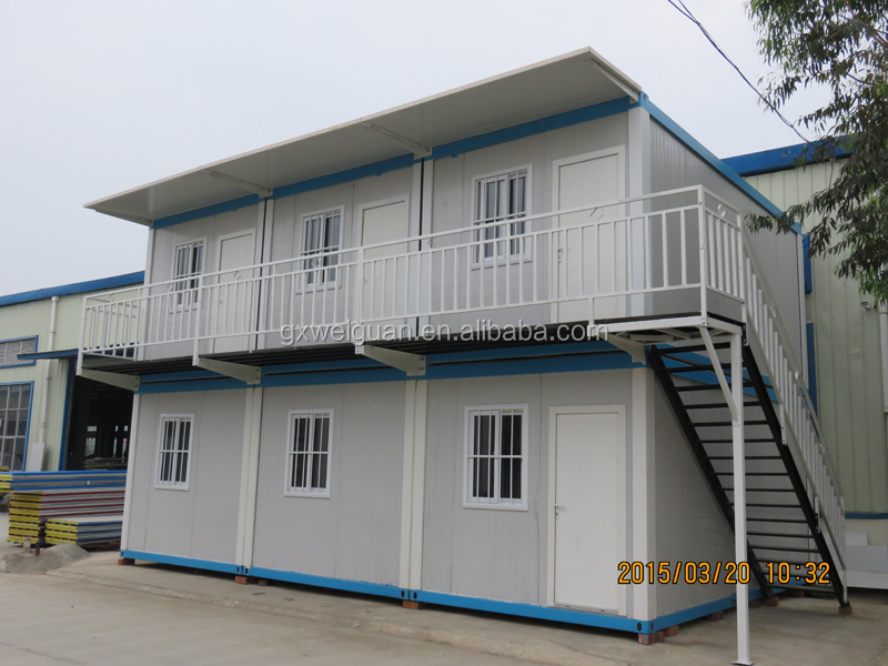 Prebuilt Portable Prefabricated Flat pack Container House