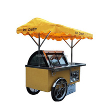 Designer hot sell frozen yogurt and ice cream cart