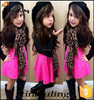 Fashion girls 2pcs clothing sets children clothes wholesale korea clothing for girls