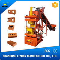 LY2-10 mud brick making machine in dubai price list block machine