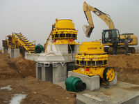 granite crushing production plant with stable performance and high capacity