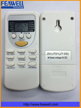chigo air conditioner remote control with hot selling