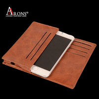 Vintage universal smart phone wallet style leather case for iphone6/6s