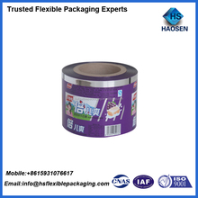 Custom Printed Laminated Metalized candy wrapping plastic PET film rolls