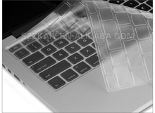 Clear transparent TPU keyboard cover for macbook air 13 inch keyboard cover