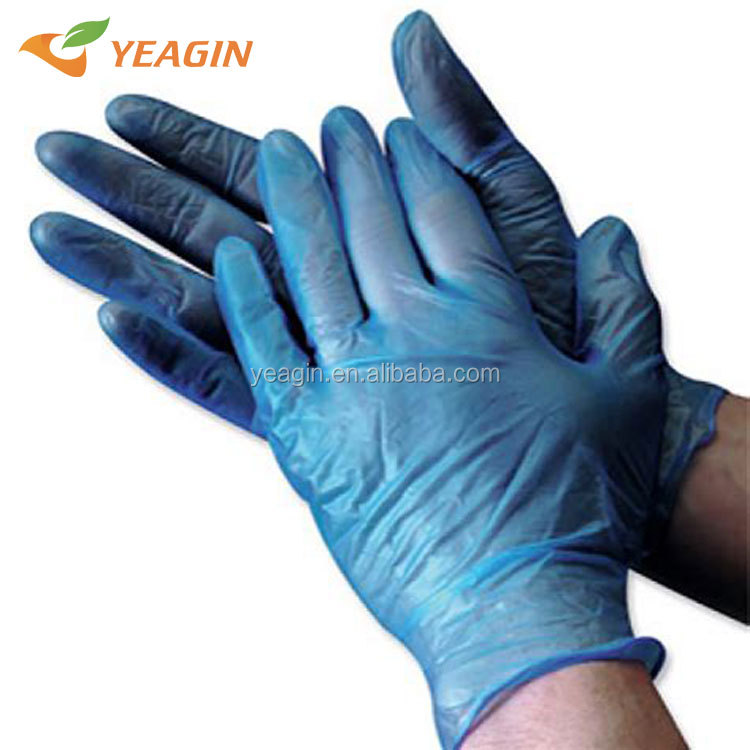 High quality disposable powder free PVC vinyl glove