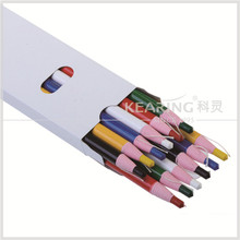 Grease 170mm No sharpening pencil ,grease wax pencil white ink hor iron disappearing pencil for leather marking #SDP170