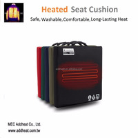 New Premium 7.4v Battery Powered Electric Heated Seat Cushion