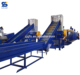 PET and HDPE waste plstic bottles recycling and washing production line