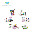 elegant appearance bricks series toys for kids girl with multiple styles