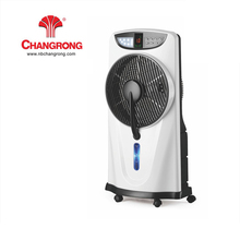 "12"" 3 speed rechargeable price mist fan with battery and led light"
