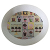 Household Decoration Plastic Tray Food White
