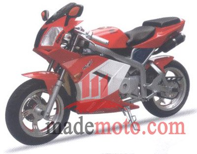 110cc 4-Stroke Super Pocket Bike WZPB1103G