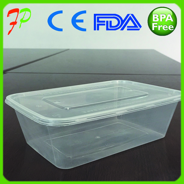 Disposable takeaway food container box
