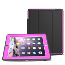 Sturdy Slim Smart Leather Case For Apple iPad 3 Foldable Case