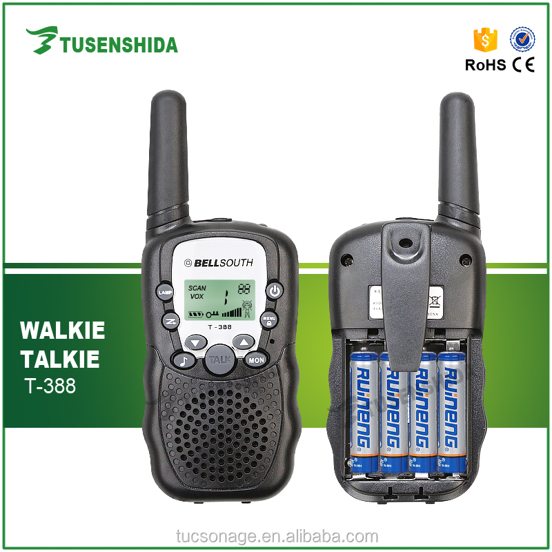 Portable Radio Receiver Ham Two Way Radio T-388