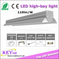 farm/tunel/food factory/Car parking/Cooler IP65 triproof led linear light,led high bay light industrial