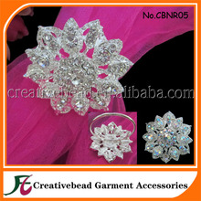 wholesale diamond table napkin ring holders for wedding