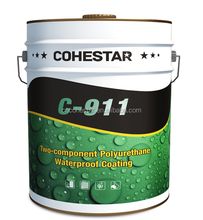 Colored Polyurethane Basement Floor Waterproofing Paint