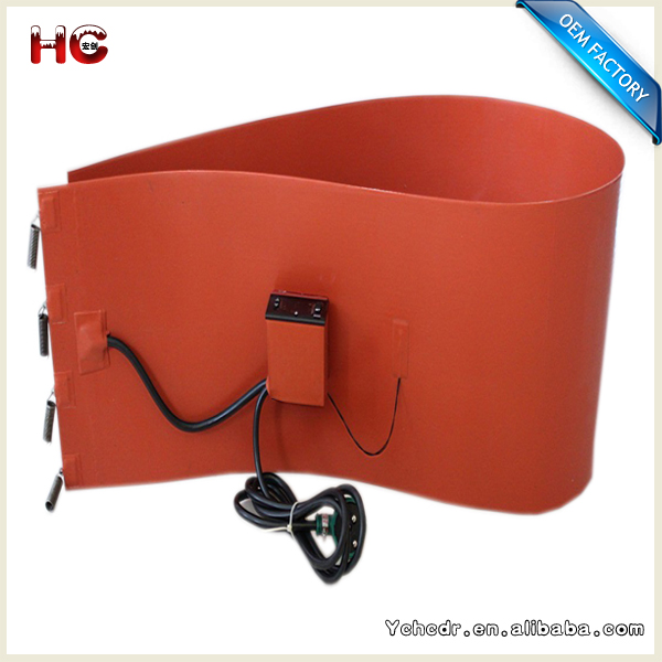 12V 110V Flexible Silicone Rubber Conveyers & Hoppers Heater