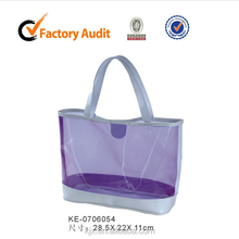 Wholesale Cheap Jelly transparent bag