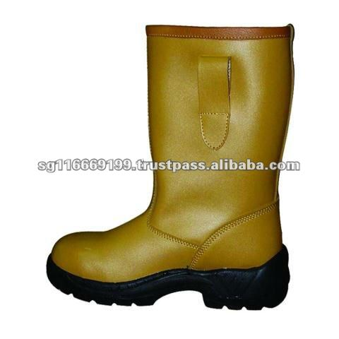 OTS 978 Genuine Leather Safety Boot