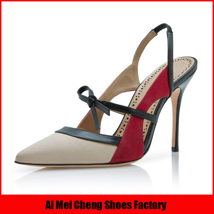여성 이탈리아어 새로운 디자인 패션 도매 12 센치메터 누드 가죽 섹시한 높은 뒤꿈치 신발