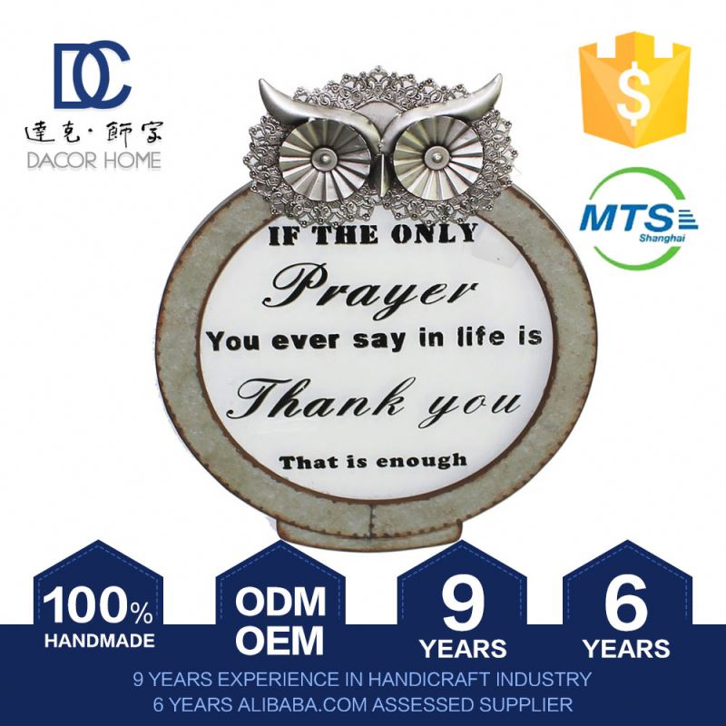Price Cutting Get Your Own Custom Design Quick Lead Home Accessories Wooden  Owl Decorations