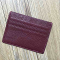 Genuine leather carbon fiber name card holders,money clip,card wallet