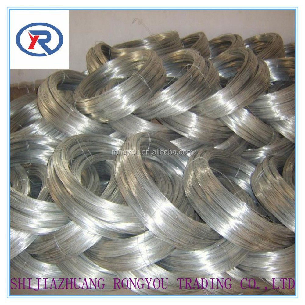 Electric galvanized/hot dipped galvanized/stainless steel <strong>Wire</strong>