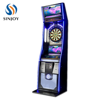 LED display 27 games 1-8 players electronic dartboard