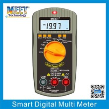MS-2000A True RMS Auto/Manual Range Digital Multi meter with Protective holster