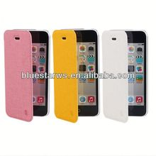 PU leather case for iphone5/5s Mobile Phone Accessory Flip PU Leather Wallet Case Cover For apple iphone5