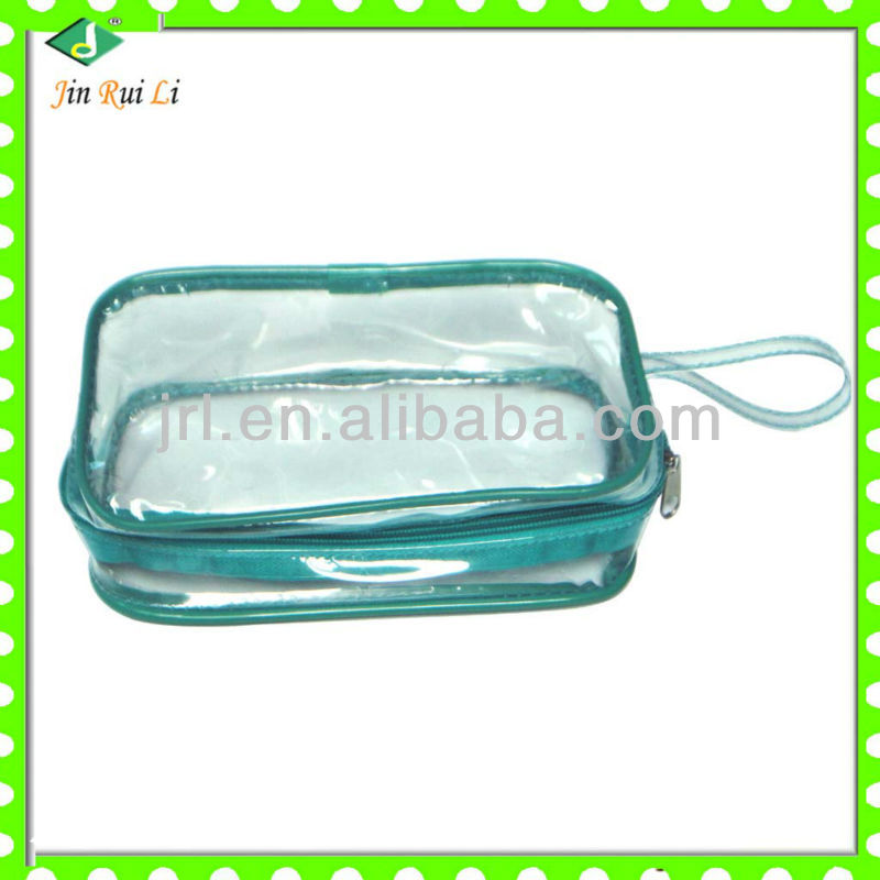 pvc cosmetic bag for bottles