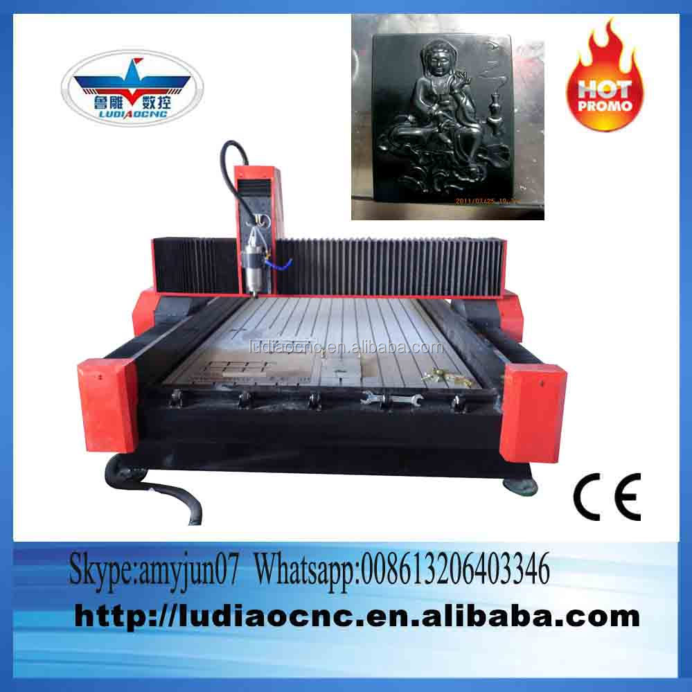 Looking for agents marbel cnc cutting machine/cutting marble cnc router with 5.5KW water spindle/cnc stone router 1325