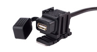 Universal Motorcycle ATV UTV Snowmobile USB Power Port Adapter Charger