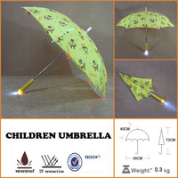 LED Umbrella with LED Light Torch Handle clear led umbrella