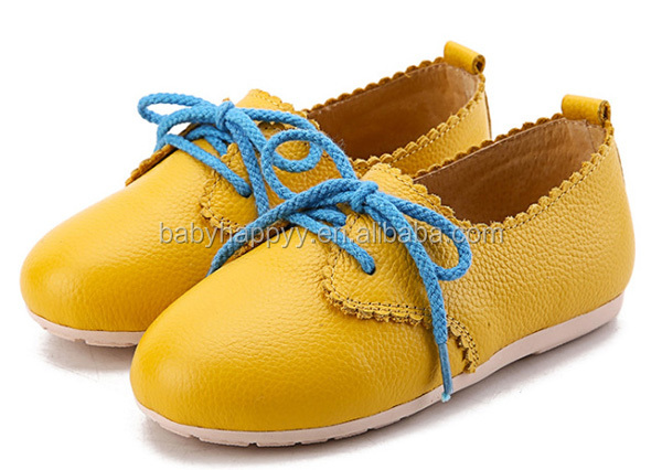 Beautiful Kids PU Leather Shoes Cute Color Changing Children Casual Shoe