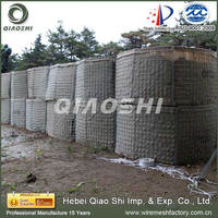 Qiaoshi good quality hesco barrier/hesco container