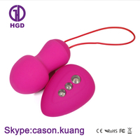 wireless remote control rechargeable mini egg vibrator sex toy for women