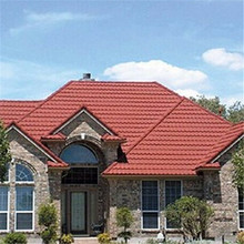 multi-color sand protection heat-resistance durable long life stone coated roofing waterproof steel tile