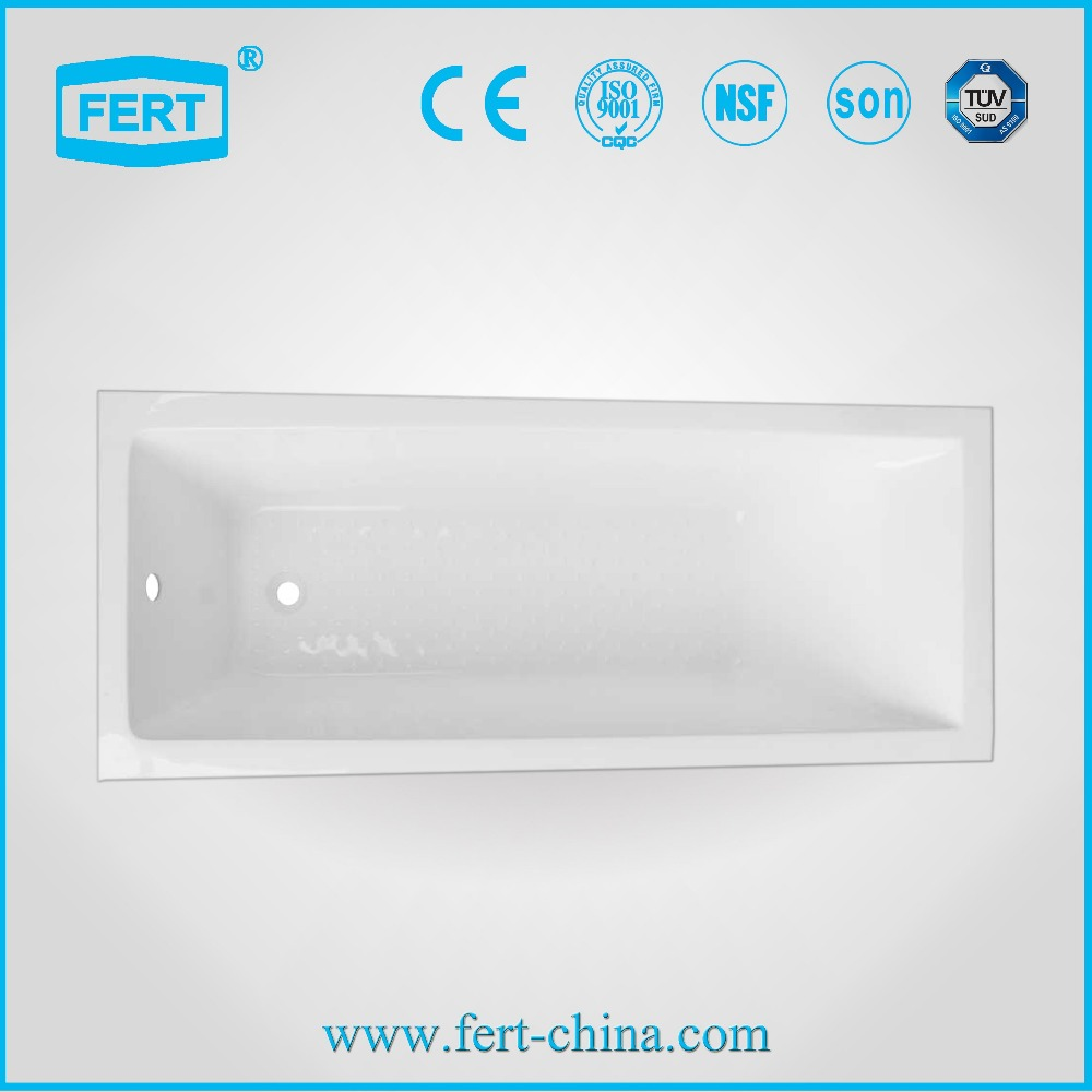 2016 Cheap Best Clear Bathtub Acrylic Transparent Bathtub