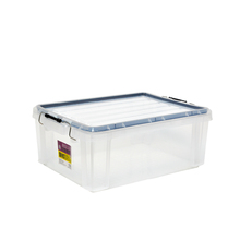 Household Sundry Storage Bin Transparent PP Plastic Storage Box