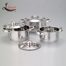 Economic stainless steel kitchen food cookware pot