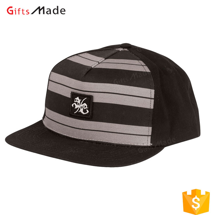 Wholesale Flat Sports Caps Fashion Custom Blank 5 Panel Snapback men Cap Hat