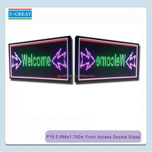 electronic outdoor led electronic panel led sign jewelry diamond auction sale
