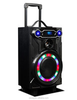 Best OEM trolley bluetooth rechargeable speaker system with fm radio / USB /SD card/ remote control