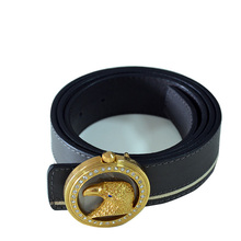 "1.3""Wholesale rhinestone custom personalized cheap mens perfume leather western belts , designers mens belt"